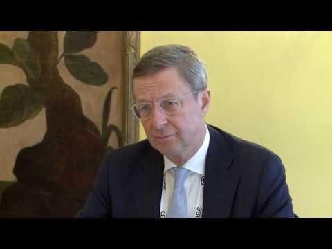 Президент страны провел встречу с исполнительным директором Восточного комитета германской экономики