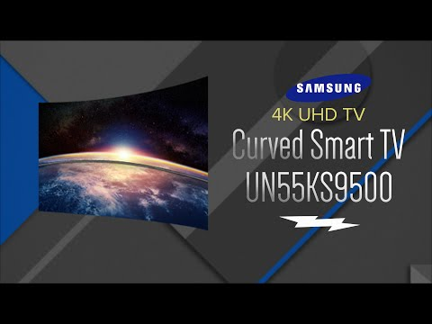 Samsung 55 SUHD 4K Curved LED Smart HDTV UN55KS9500FXZA - Overview