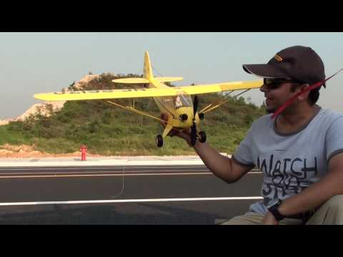 My Super Cub Piper J3 Maiden Flight