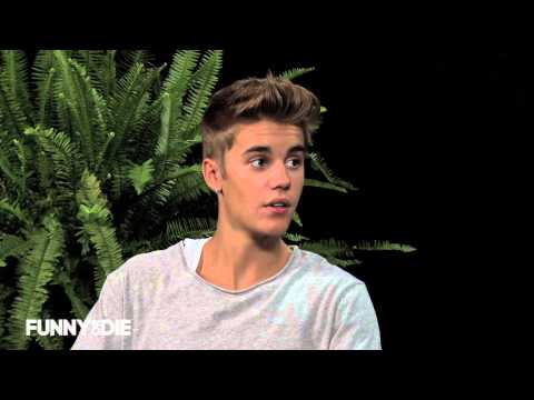 two - Become a fan on facebook: http://www.facebook.com/funnyordie Episode 16: Zach Galifianakis sits down with Justin Bieber for an interview no one will ever for...