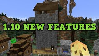 Minecraft 1.10 NEW MOBS, STRUCTURE, BLOCKS (Snapshot)