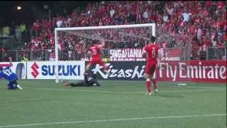Video AFF Suzuki Cup Final 1st leg Singapore vs Thailand 3 - 1 MP3, 3GP, MP4, WEBM, AVI, FLV November 2018
