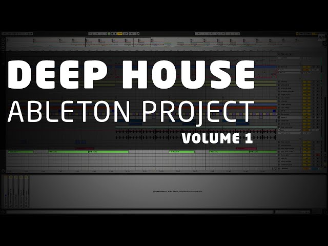 Nextproducers deep house ableton project vol 1 for Deep house music songs