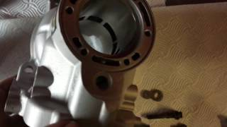 5. Ktm SX 150 cylinder repair and re-plate 2009