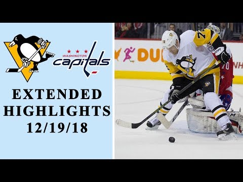 Video: Pittsburgh Penguins vs. Washington Capitals I EXTENDED HIGHLIGHTS I 12/19/18 I NBC Sports