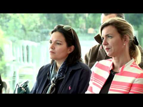 Premier Charity Mile Princesse Charlene de Monaco à Cagnes-sur-Mer
