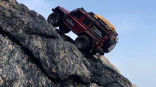 Video Traxxas TRX4 Defender Beach Rock Crawling_# MP3, 3GP, MP4, WEBM, AVI, FLV Agustus 2019