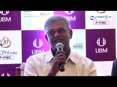 , Jayant Tagore-India Pharma Week 2016