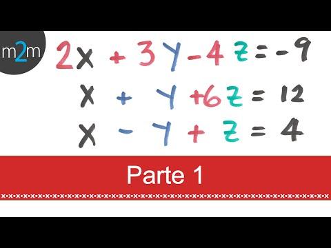 3x3 simultane Gleichungen: Determinanten (P1)