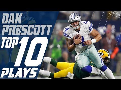 Dak Prescott's Top 10 Plays of the 2016 Season | Dallas Cowboys | NFL Highlights