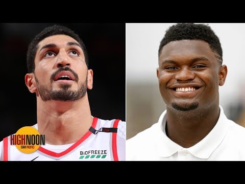 Video: Enes Kanter trolling Zion with Julius Randle comparison is a compliment, not an insult | High Noon