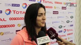 Qatar Total Open 2019: Media Day: Press conference Ons Jabeur Version Française