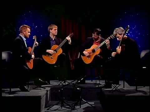 guitarquartet - from Petite Suite by Claude Debussy - arranged by the Minneapolis Guitar Quartet - performance for Baby Blue Arts of Minnesota www.minneapolisguitarquartet.com.