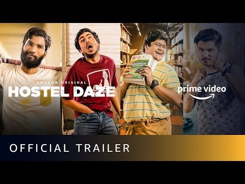 Hostel Daze Official Trailer 2019 | The Viral Fever | Amazon Prime Video