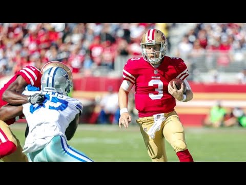 The Dallas Cowboys VS 49ers 2018 Game Review ❗❗❗