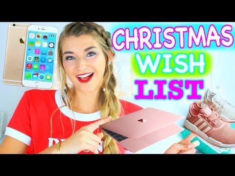 Christmas Wishlist 2016 / Teen Gift Guide