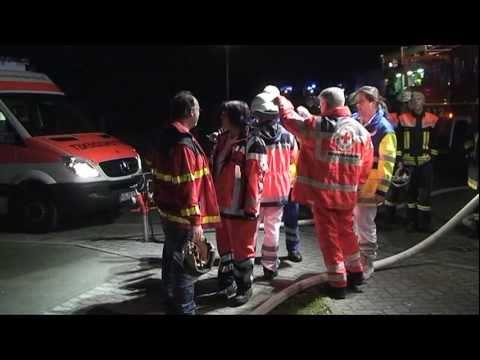 Mengeringhausen: Fünf Verletzte bei Brand