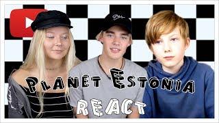 Planet Estonia REACT  Eesti YouTuberid Eesti YouTuberid Live piletid - http://bit.ly/EYLIVE2017 Selles osas viskavad Youtuberid pilgu peale hijuti Eesti ...
