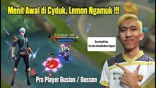 Download Video Menit Awal di Gank, Lemon Langsung Menunjukan Skill Asli Gossen - Gameplay Gusion by RRQ Lemon MP3 3GP MP4