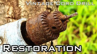 Video Vintage Cord Drill Restoration [National Brand - Unknown Year] MP3, 3GP, MP4, WEBM, AVI, FLV Februari 2019
