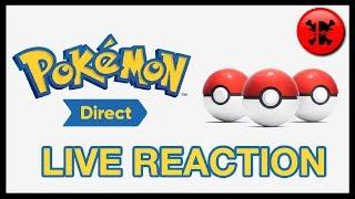 FULL LIVE REACTION to Pokemon Direct 2.27.19 | RogersBase Pokemon Sword and Shield Reaction
