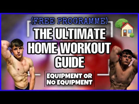 BEST ROUTINE TO GAIN MUSCLE AT HOME | FREE TRAINING PROGRAMME! | FOR MEN AND WOMEN