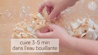 Comment faire des pâtes sans machine à pâtes