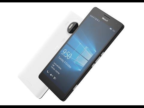 Видео Смартфон Microsoft Lumia 950 XL White