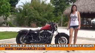 6. Used 2011 Harley Davidson Sportster Forty-Eight Motorcycles for sale in Orlando FL