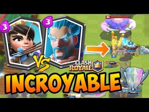 Clash Royale – MON MEILLEUR COMBAT ? Enorme Gameplay en Arene LEGENDE !