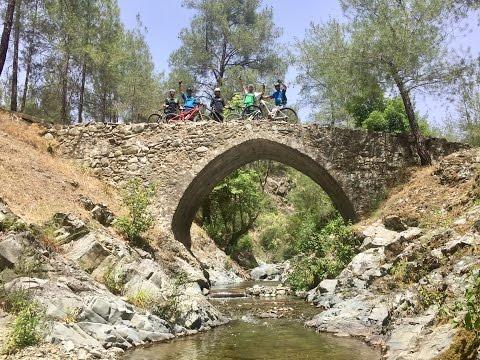 Enduro riding in Cyprus (видео)