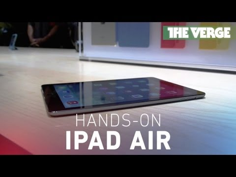 iPad Air hands-on
