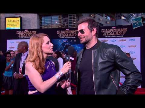 Who - Actor Bradley Cooper discusses voicing Rocket and who he can take in a one-on-one fight at Marvel's