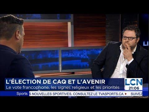 Mathieu Bock-Côté - L'élection de la CAQ - Le vote francophone et la question identitaire