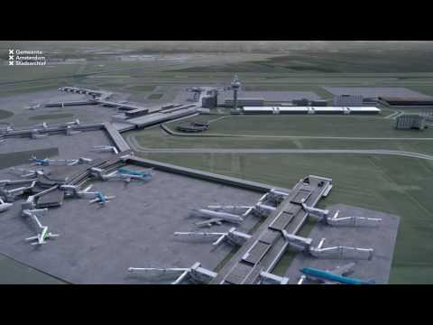 Amsterdam Airport Schiphol 1916 2016