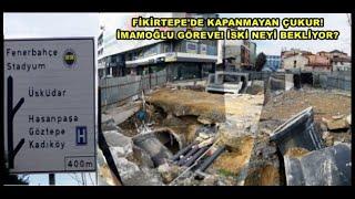 İmamoğlu Göreve, İSKİ neyi bekliyor? Kadıköy Belediyesine 500 m mesafe Fikirtepe'de karantina!