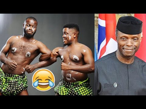 Sam & Song Crazy performance made Vice President Osinbajo Laugh out Loud