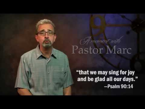 "A Moment with Pastor Marc #5<br /><strong>""Start Your Day with God""</strong>"