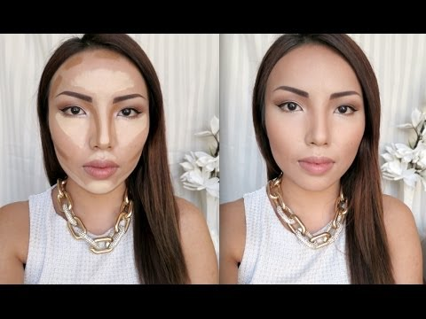 highlight - These are the basic steps on how to Contour and Highlight your face. Its really not that hard once you know where to apply what. I am going to show you guys ...
