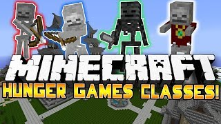 SKELETON ARMY! - Minecraft: Hunger Games CLASSES! w/Preston&Woofless!