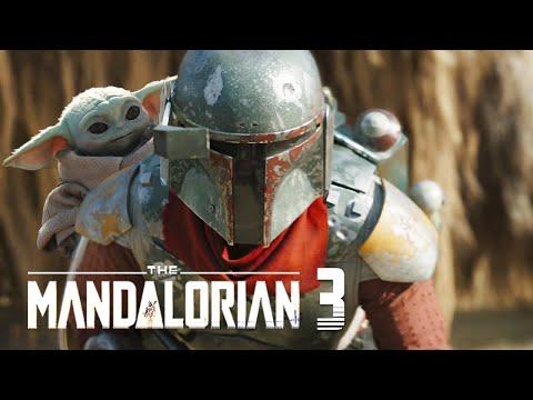 The Mandalorian Season 3 Boba Fett Announcement 2021 Breakdown and Star Wars Movies Easter Eggs