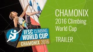Upcoming LiveStream Trailer - IFSC Climbing World Cup Chamonix 2016 - Lead & Speed by International Federation of Sport Climbing