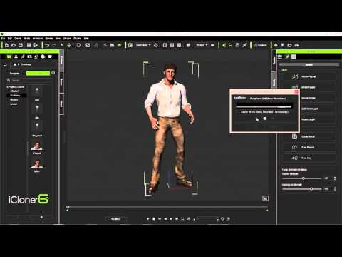 iClone Animation to Unity3D Part One: Voice Recording & Lip-Sync
