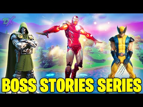 Fortnite Boss Story Songs Parts 1-10 | All the Fortnite Boss Story Songs By DrogonX