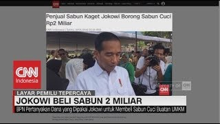 Video Jokowi Beli Sabun Seharga Rp 2 Miliar MP3, 3GP, MP4, WEBM, AVI, FLV Januari 2019