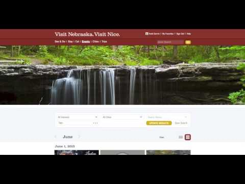 Angela White presents VisitNebraska.com & You - GROW Nebraska June 2015 Third Thursday Training (видео)