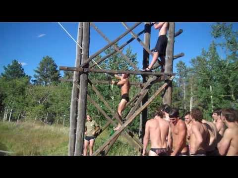DU Swimming and Diving Ropes Course Bloopers