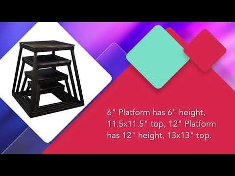 Ader Black Plyometric Platform Box Review