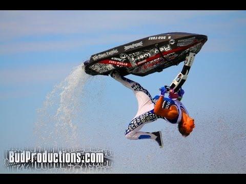 Lite trevlig Jet Ski Freestyle
