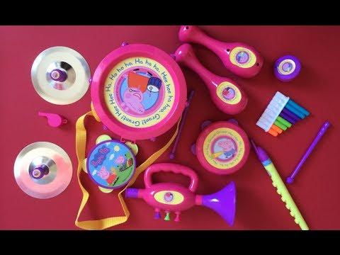 Peppa Pig Toys – Peppa Pig Musical Instruments Band Set!